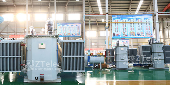 10KV Grade Amorphous Metal Oil-immersed Transformer S(B)H15-M-30~1600/10 series