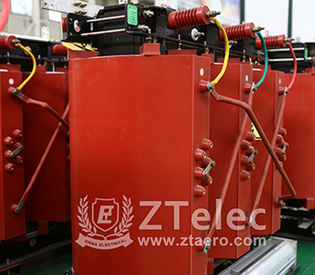 Minimum allowable insulation distance in dry transformer