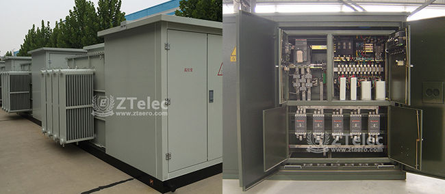 American Type Box Transformer Substation