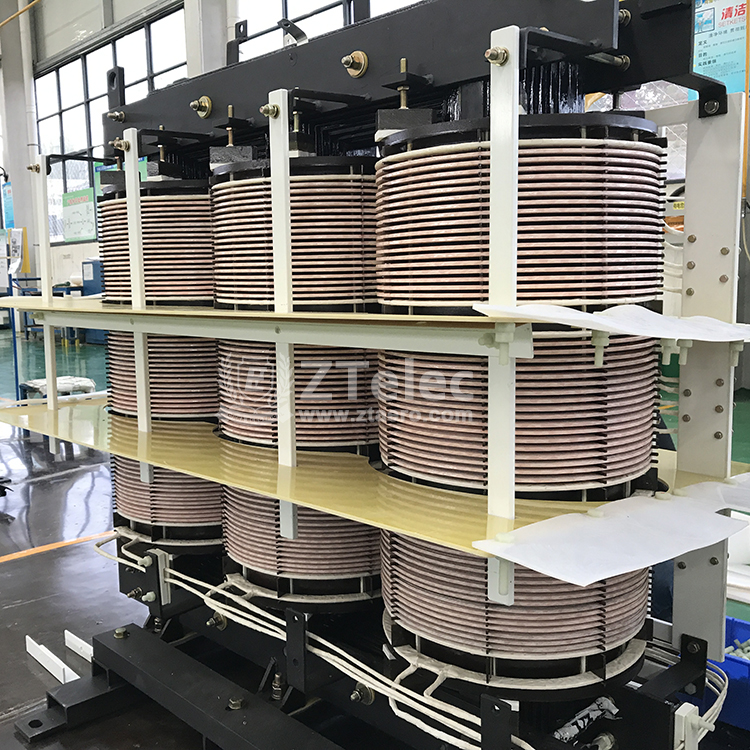 China phase shifting rectifier transformer factory