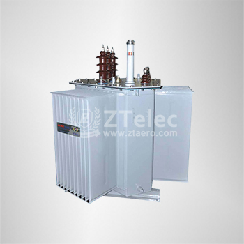 Stereo roll iron core transformer