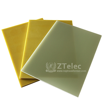 Epoxy Glass Fabric Laminated Sheets Fr4/G10