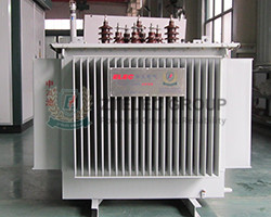 fully sealed three-phase oil-immersed transformer