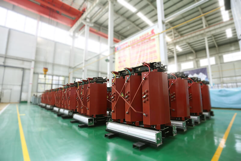 10KV SCZB10 on-load voltage regulating resin insulated dry-type transformer